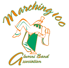 Marching 100 Alumni Band Association logo