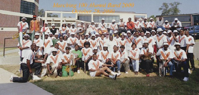 Alumni Band - Homecoming 2000